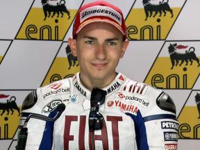 Sachsenring 2010 - MotoGP - Race - Interview - Jorge Lorenzo