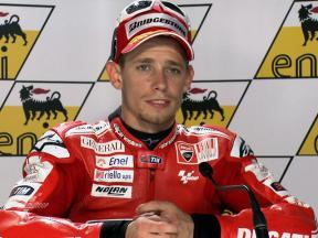 Sachsenring 2010 - MotoGP - Race - Interview - Casey Stoner