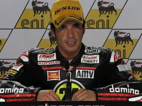 Sachsenring 2010 - Moto2 - Race - Interview - Toni Elías