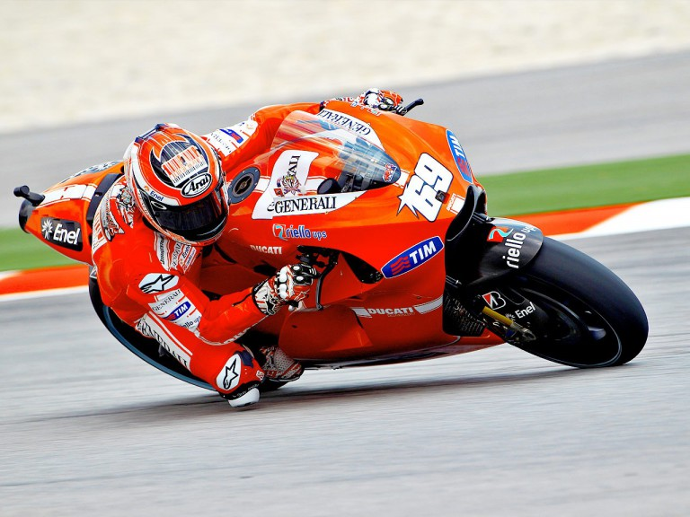 Nicky Hayden in action at Sepang