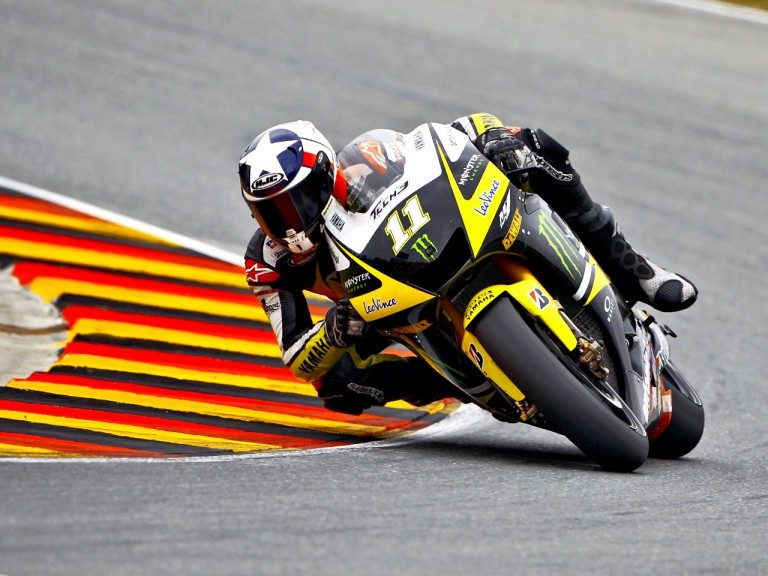 Ben Spies on track in Sachsenring