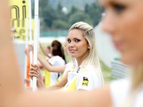 Paddock Girl at the eni Motorrad GP Deutschland