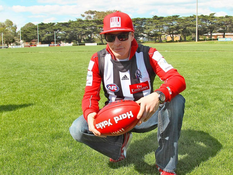 Nicky Hayden at Phillip Island Football Club