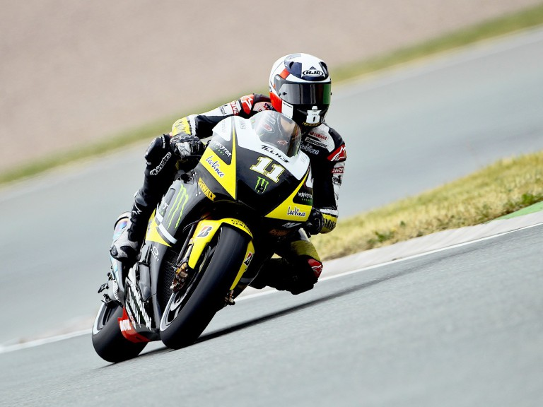 Ben Spies in action in Sachsenring