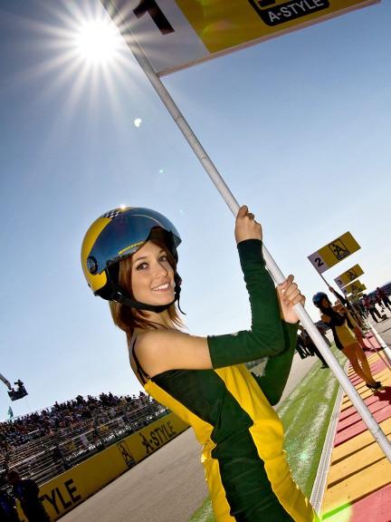 Paddock Girl at the Gran Premio A-Style de Aragón