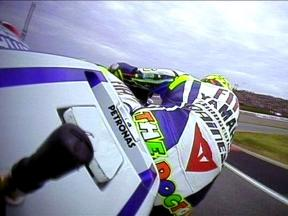 OnBoard in Germany with Valentino Rossi