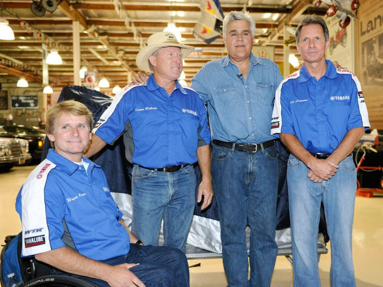 MotoGP Legends with Jay Leno at his Garage