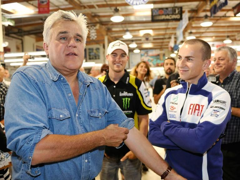 MotoGP riders visit Jay Leno's Garage