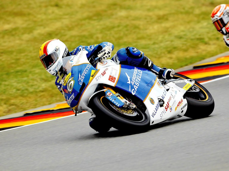 Alex Debón on track in Sachsenring