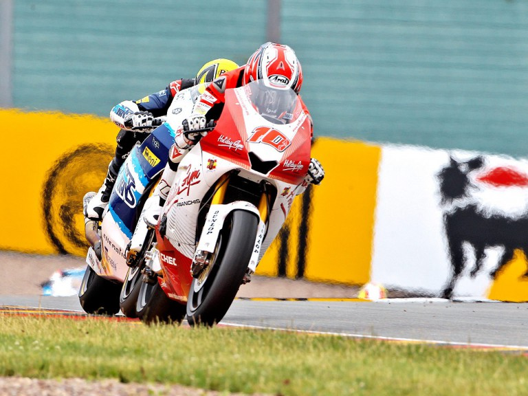 Fonsi Nieto in action in Sachsenring