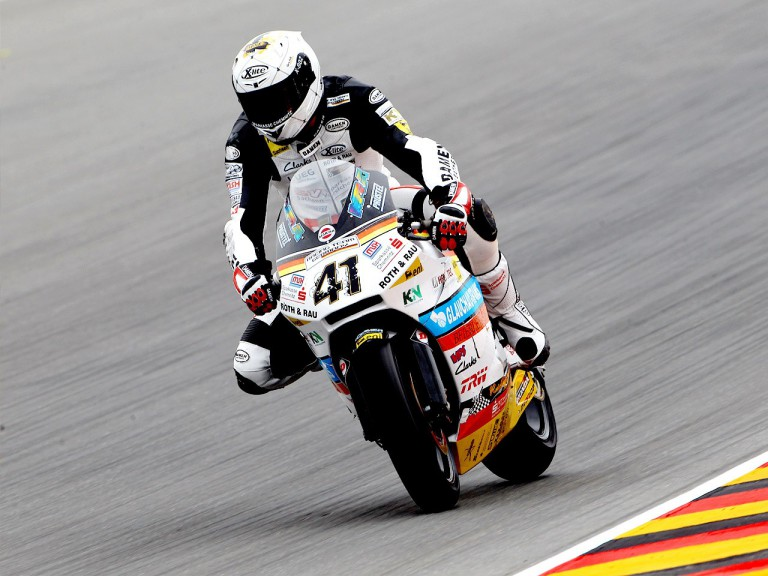Arne Tode in action in Sachsenring
