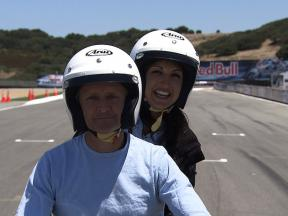 A lap of the Mazda Raceway Laguna Seca with Kevin Schwantz
