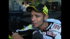 Rossi reacts to Laguna run