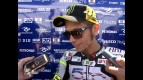 Rossi ready for task from second row