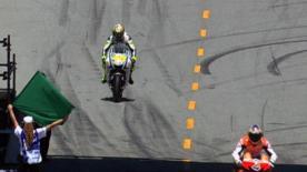O líder do Campeonato do Mundo venceu o magnífico duelo pela pole position contra Casey Stoner no Red Bull U.S. Grand Prix ao rodar nuns impressionantes 1m20,978s.