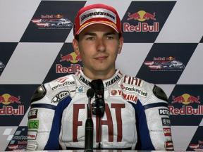 Laguna Seca 2010 - MotoGP - QP - Interview - Jorge Lorenzo