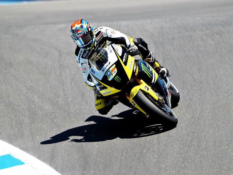 Colin Edwards in action in Laguna Seca