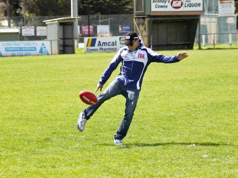 Jorge Lorenzo  at Phillip Island Football Club
