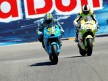 Capirossi and Espargaró in action in Laguna Seca