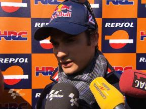 Pedrosa taking positives from display