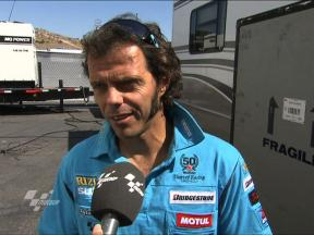 Capirossi on tough job for 10th