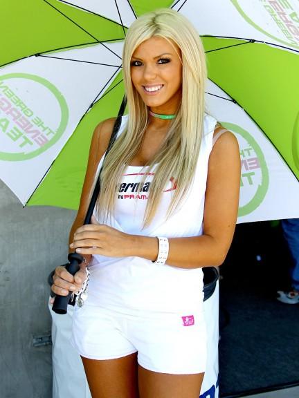 Paddock Girl at the Red Bull U.S. Grand Prix