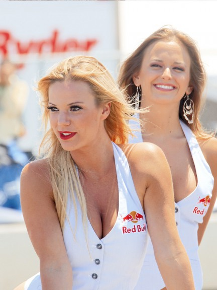 Paddock Girl at the Red Bull U.S. Grand Prix