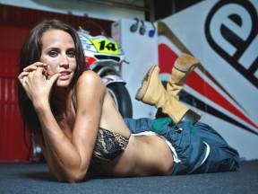 LCR Paddock girl Lauren Vickers