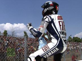 Jorge Lorenzo's 2010 season so far…