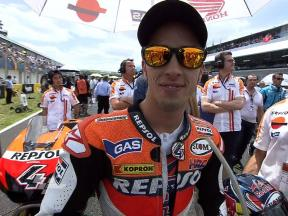 Andrea Dovizioso's 2010 season so far…