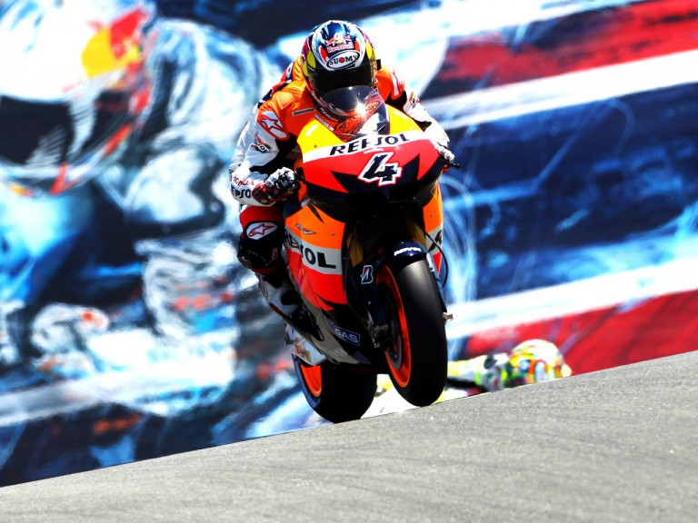 Dovizioso on track at Laguna Seca