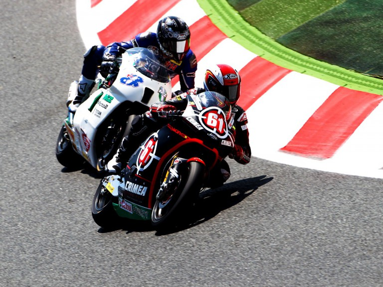 Ivanov in action at Montmelo