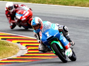 Efren Vazquez on track at Sachsenring