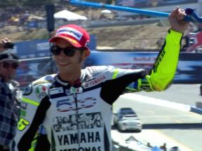 Valentino Rossi's 2010 season so far…