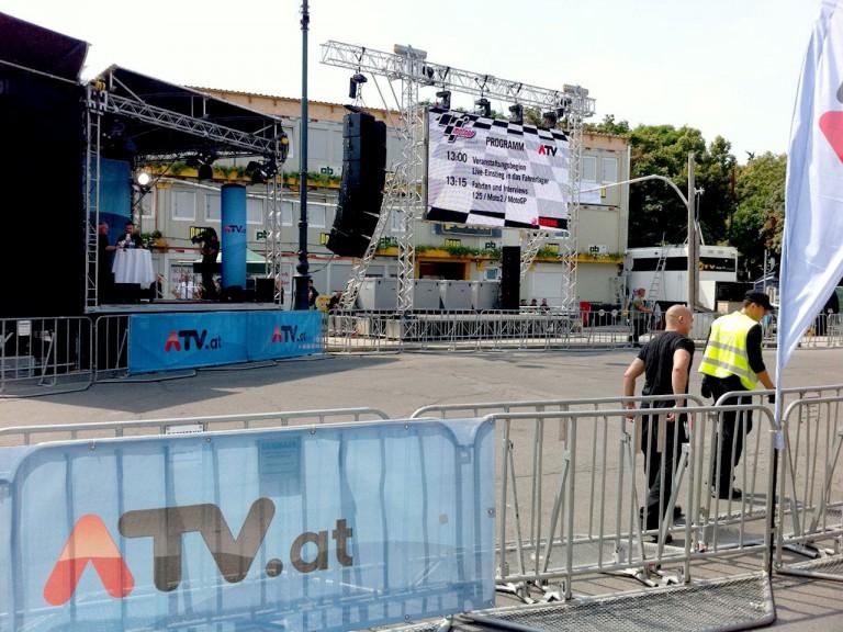 Vienna Preevent behind the scene