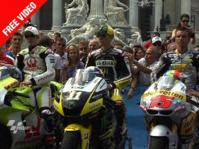 MotoGP visits Vienna city centre