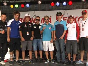 MotoGP stars meet fans in Brno