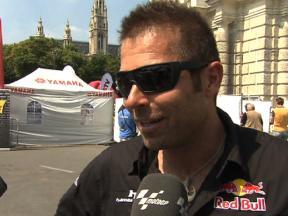Austrian Air Race pilot Hannes Arch on Vienna Event