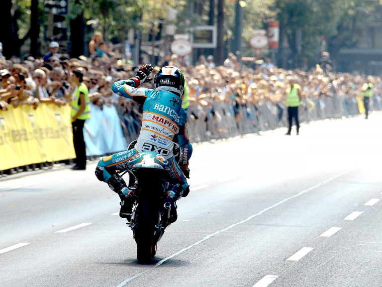 MotoGP riders enjoy Viennese whirl