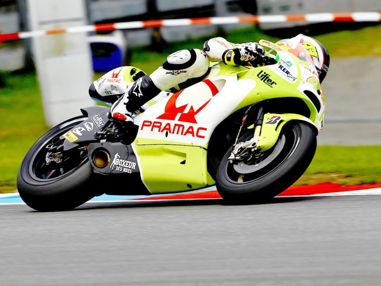 Aleix Espargaró in action in Brno