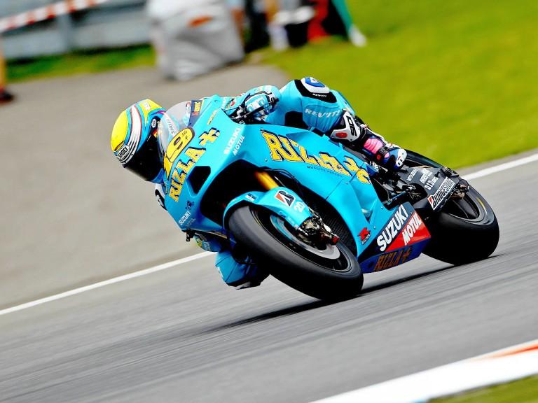 Alvaro Bautista on track in Brno