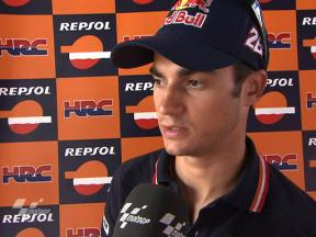 Pedrosa moving in right direction after first session