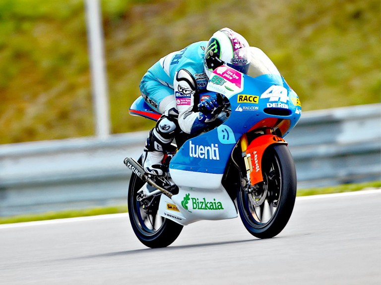 Pol Espargaró in action in Brno