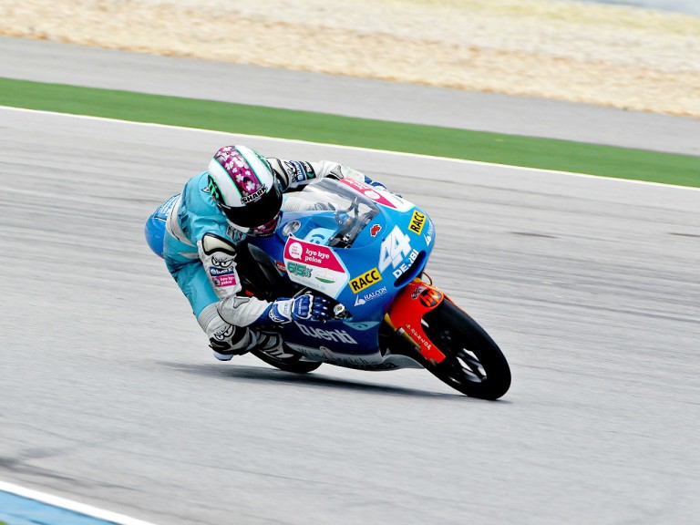 Pol Espargaró in action at Sepang