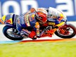 Marc Márquez in action in Brno