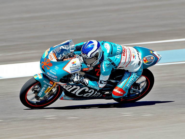 Nico Terol in action at Indianapolis