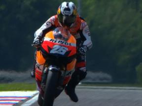 Brno 2010 - MotoGP - QP - highlights