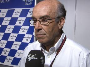 Carmelo Ezpeleta explains MotoGP 2012 CRT rules and Moto3 prospects