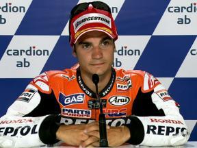 Brno 2010 - MotoGP - QP - Interview - Dani Pedrosa
