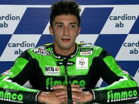 Brno 2010 - Moto2 - QP - Interview - Andrea Iannone